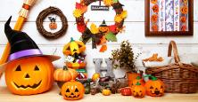 halloweenのイベントには、みんな仮装をして参加しました♪